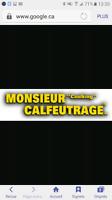 M.CALFEUTRAGE embauchons  (emploi disponible)