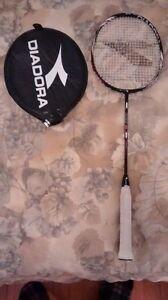 Raquette de badminton