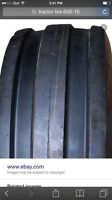 Wanted: used front tractor tire 600-16