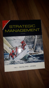 Strategic management I / business 3rd year book