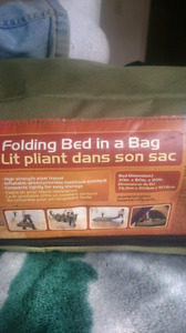 Twin air bed