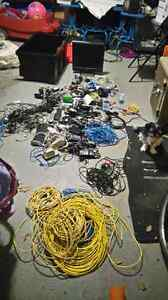 Computer cables and wires. Whole lot and more.  Kingston Kingston Area image 6
