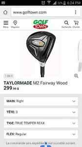 Bois 3 M2 taylormade droitier neuf
