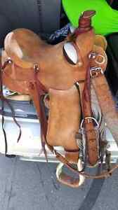 Hand made Ranch saddle
