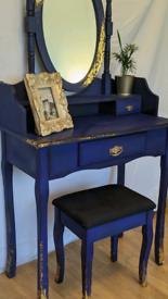 Colbalt Blue Upcycled Dresser