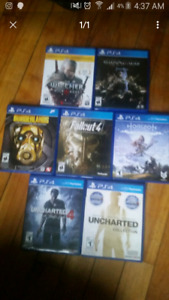 Mint condition ps4 games cheap brand new Playstation 4 games