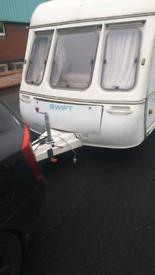 Swift Challenger 5 Berth Caravan to go ASAP... Nearest offer takes it