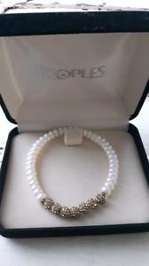 People's genuine pearl bracelet