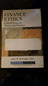 Finance Ethics - Critical Issues in Theory and Practice
