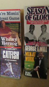 Collection of Sports Books