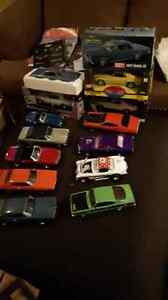 1/18 scale diecast muscle cars