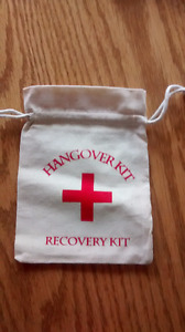 Hangover Kit/Recovery Kit Bags