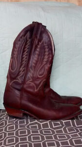 LIKE NEW BOULET COWBOY BOOTS!!!!!!!