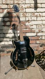 Riverside Left Handed Semi Acoustic Electric Guitar *PRICE DROP*
