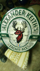 ALEXANDER KEITH.S LIGHT ALE SIGN