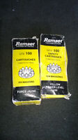$$$ - RAMSET - CARTRIGES - YELLOW ( 1 - BOX = 100 + 2PC - $$$