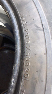 Tires for sale275/60R20