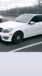 Looking to trade 19 inch mercedes rims for 18 inch