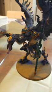 Warhammer Models (Orks and a Lord of Change)