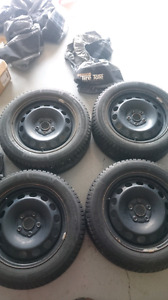 Volkswagen Winter Wheels and Tires - used 1 season