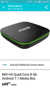 Android Box $30