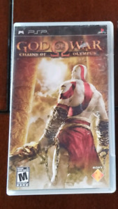Jeux PSP God Of War Chains Of Olympus