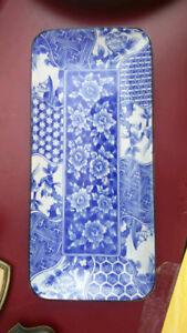 Japanese Rectangular Porcelain Plate
