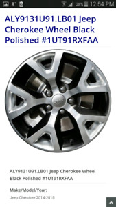 """Rim only as a spare 17"""" x 7.5 with 5x110 pattern"""