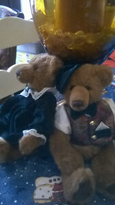 Beatrice and Bearnard Plush Bears Windsor Region Ontario image 3