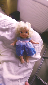Cinderella baby doll and canvas picture