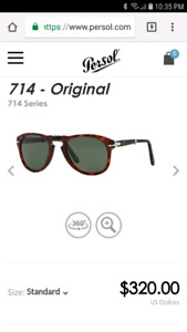Persol sunglasses used