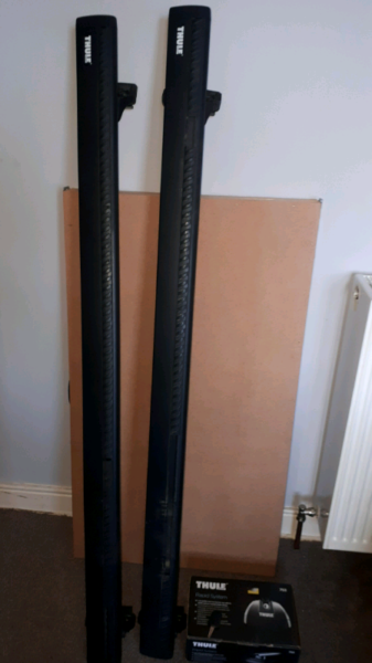 Thule wing bars for sale  Lanark, South Lanarkshire