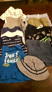 Baby boys 6 month summer clothing lot