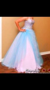 Stunning Lilac Grad Dress
