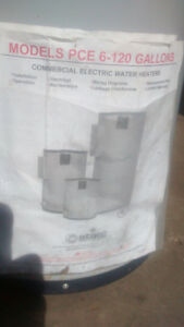 6 Gallon electric hot water heater. 5062300049