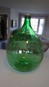Old Fermentation glass container ( used for wine)