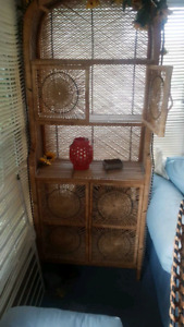 Vintage rattan wicker furniture