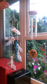 NEW 2X WIND CHIMES-FENG SHUI