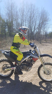Crf450r *with rekluse*