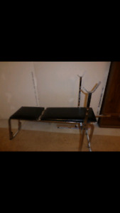 Weightnbench and 170lbs of weights