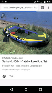 Inflateable boat