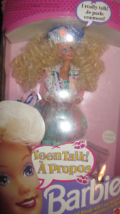 1991 Teen Talk Blonde Barbie