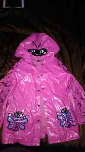 Size 6 girls raincoat