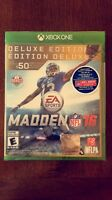Madden NFL 16 deluxe edition *NEUF*
