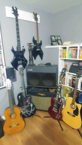 Guitars, Amps, Cases