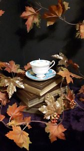 Tea cup candles for birthday/christmas/present