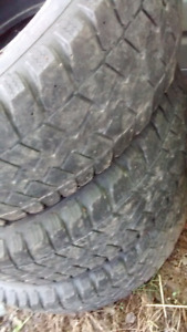 """15"""" tires 23575R15 winters $60"""