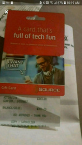 Gift Card at the Source great deal!!!