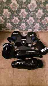 Jr hockey gear.for sale