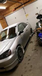 2004 manuel Honda Civic SE coupe for sale